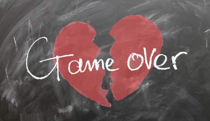 Game over - eine Trennung kann den Boden unter den Füßen wegreißen