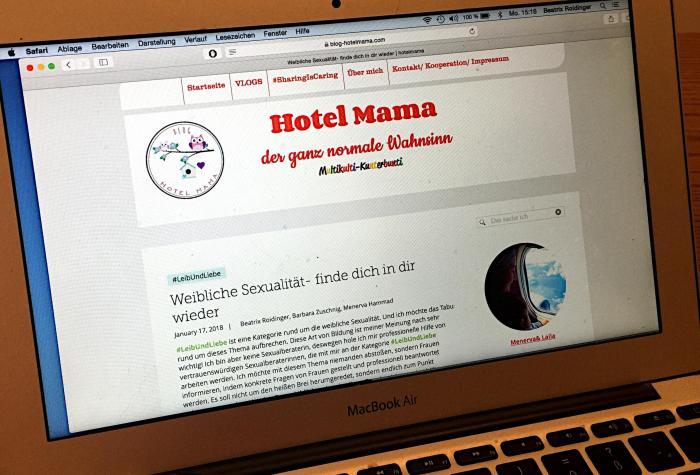 """Interview im Blog """"Hotel Mama"""" zum Thema weiblicher Orgasmus und Lust"""
