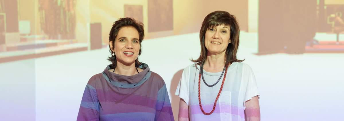 Mag. Beatrix Roidinger und Mag. Barbara Zuschnig